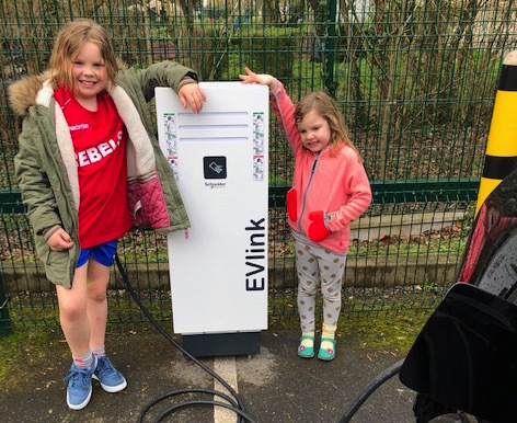 Electric Car Charge Stations: It's So Easy Being Green