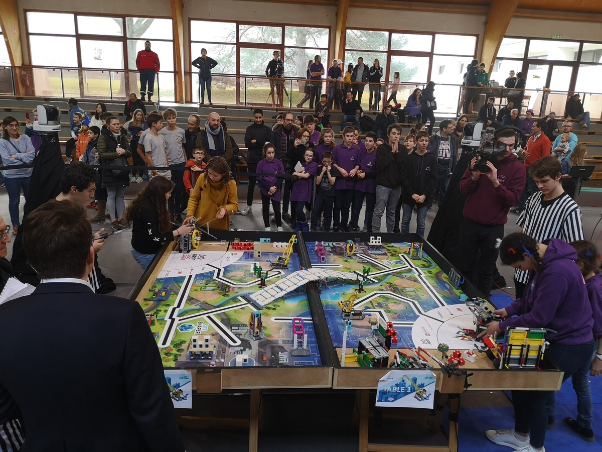 ASP at the FIRST Lego League