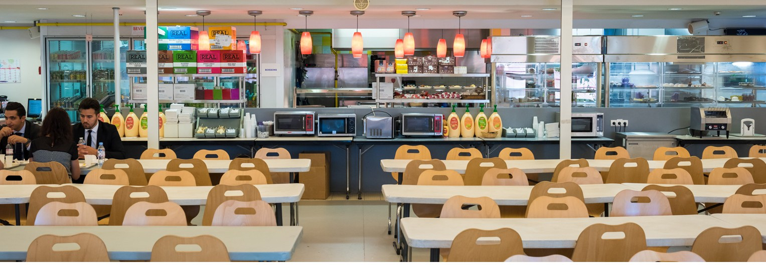 American School of Paris - Cafeteria